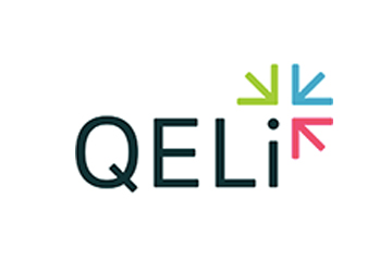 client logo web design project for qeli