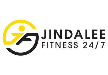 client logo web design for jindalee fitness 24/7